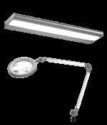LED-Beleuchtung für Arbeitsplatz