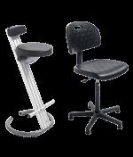 Ergonomischer Sitz und Stehsitz