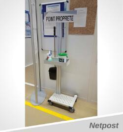 Exemple Poste de propreté de maintenance TPM