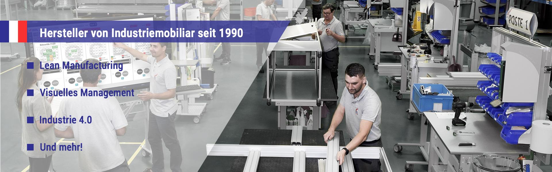 Hersteller von Industriemobiliar seit 1990